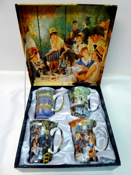 Mugs / Set of 4 / Renoir