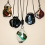 Necklaces, Selection with Diachrouc Glass