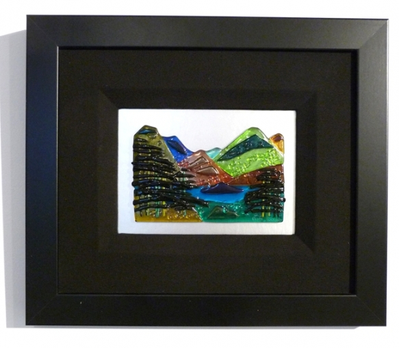 Mountainscape - 15in x 19in @$395, 17in x15in  $650