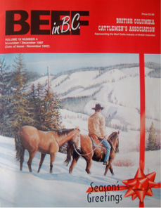 Beef in BC Cover